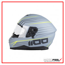 Casco IXS 1100 integral Gris/Amarillo