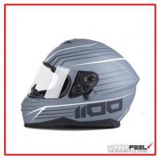 Casco IXS integral 1100 gris/blanco